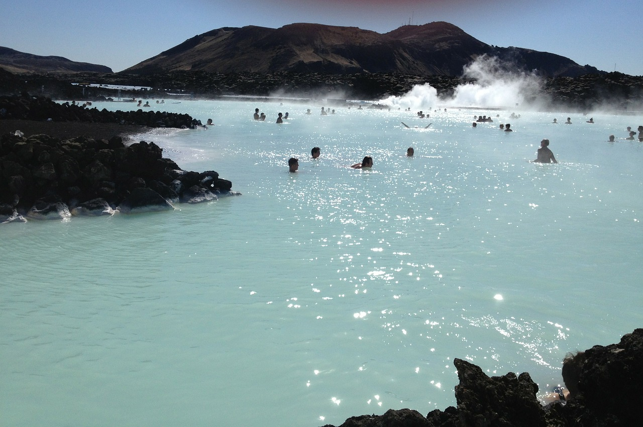 Blue Lagoon in winter - Car Rental Iceland