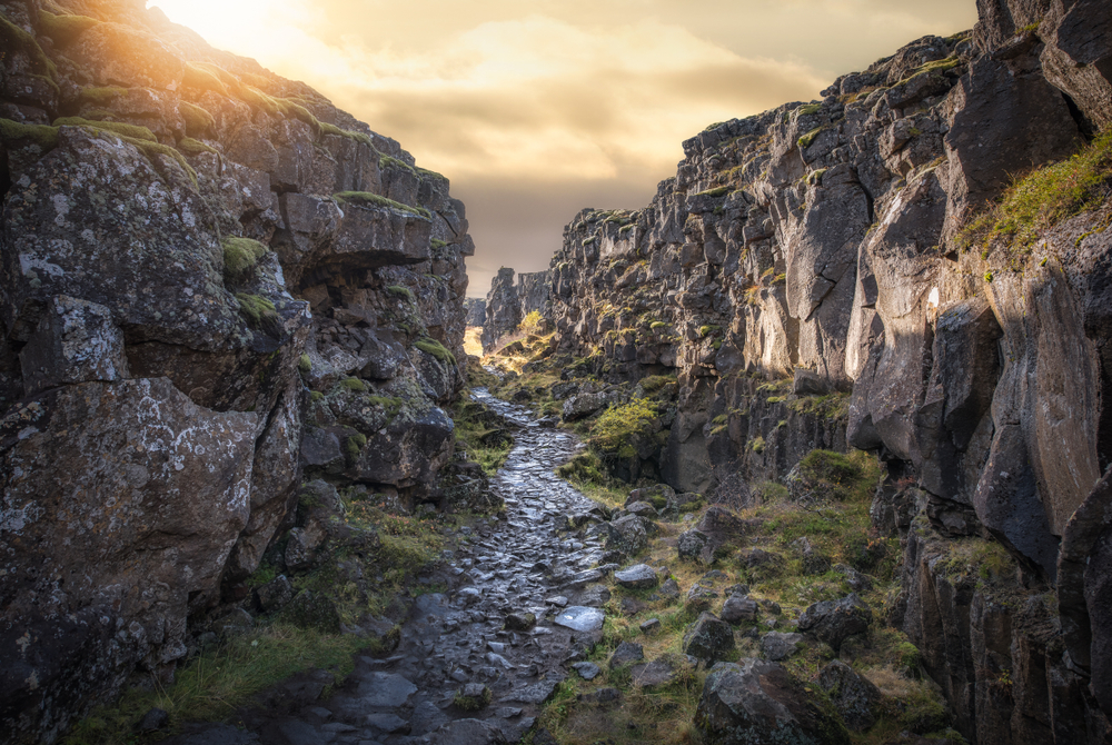 Thingvellir is one of Iceland's National Parks