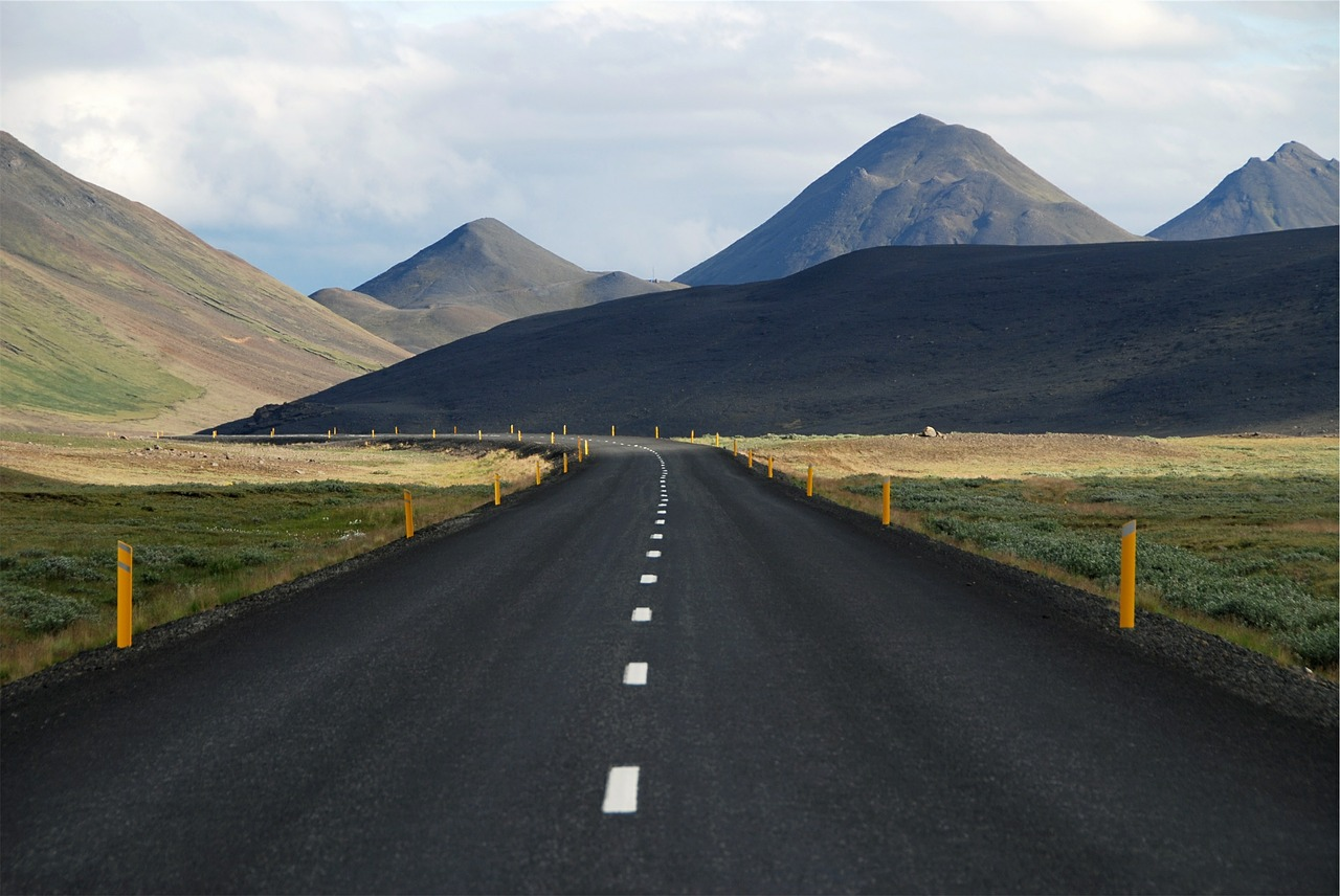 Iceland ring road renting a car