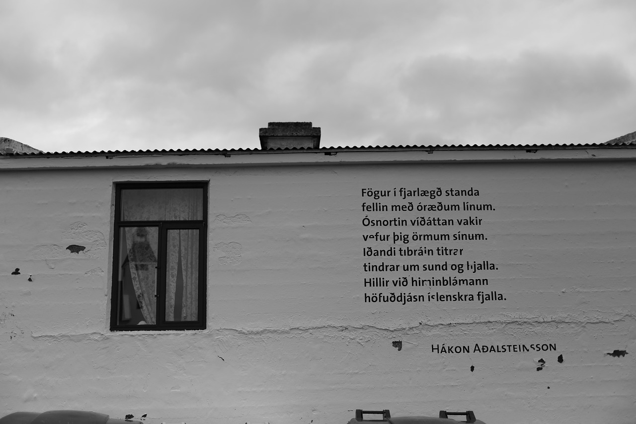 poem in Icelandic language
